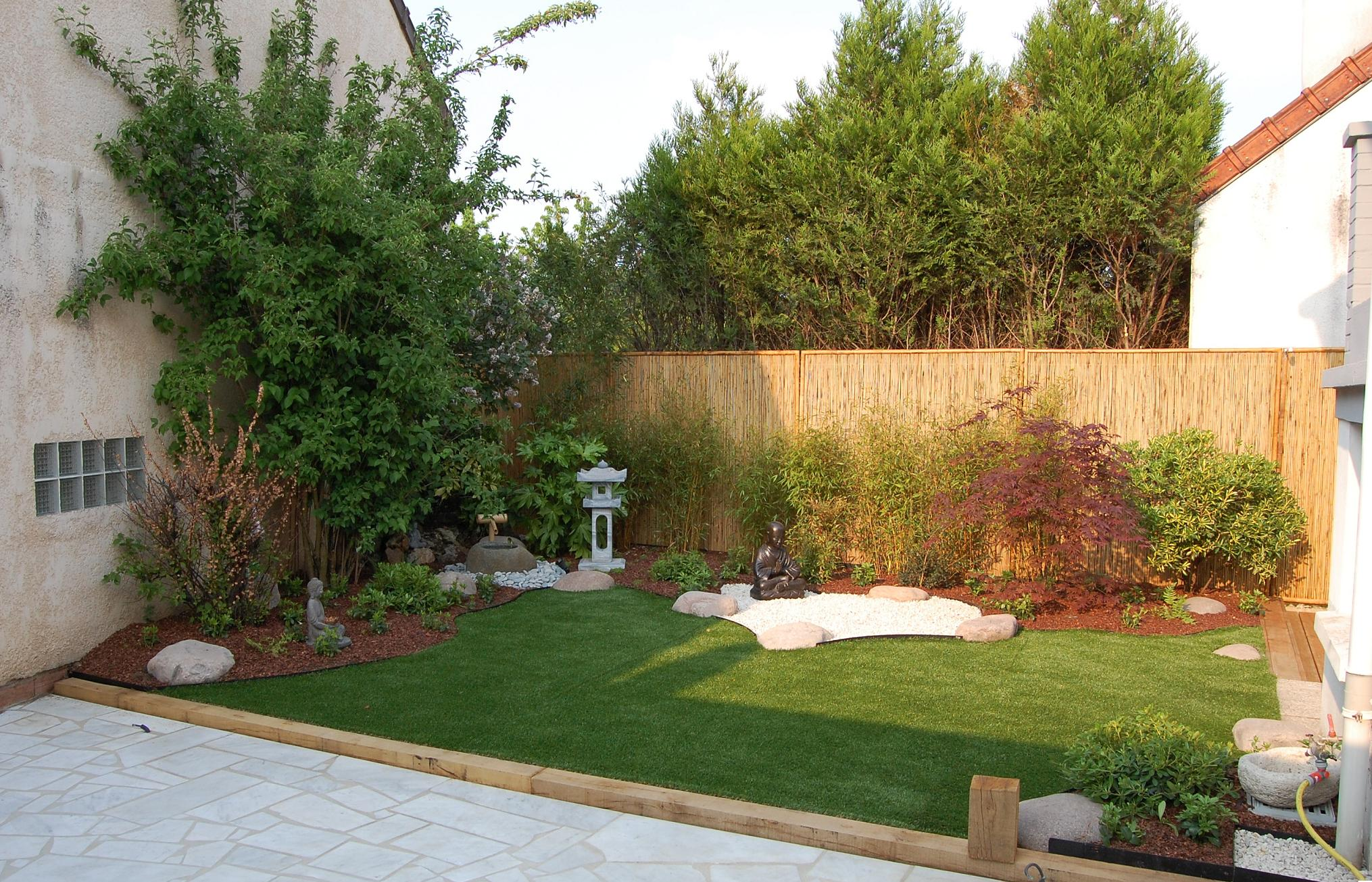 Frais idee amenagement jardin zen sabakunohana for Conception jardin japonais
